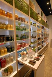 The Body Shop carries on average about 900 stock-keeping units or, SKUs, at the Crabtree Valley Mall store location in Raleigh, which relocated to its new space on the second floor of the mall in March.