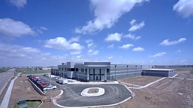 ViaWest's Compark data center, which opened June 5, 2014.