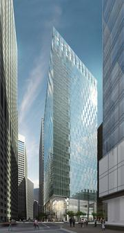 350 Mission St. Developer: Kilroy Realty Corp. Square feet: 400,000. Architect: Skidmore Owings Merrill. Tenant: Salesforce. Estimated completion: 2015. Contractor: Webcor.