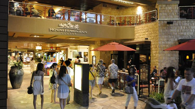 The Royal Hawaiian Center in Waikiki has been sold to J.P. Morgan Asset Management. Kamehameha Schools is retaining ownership of the six acres of land beneath the retail complex.