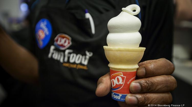 On Wednesday, International Dairy Queen issued a statement saying that it may have been subject to a data breach that hit other Twin Cities retailers, Supervalu and Target. Photographer: Michael Nagle/Bloomberg
