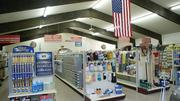 The inside of River Valley Supply is tidy, organized and well-stocked.