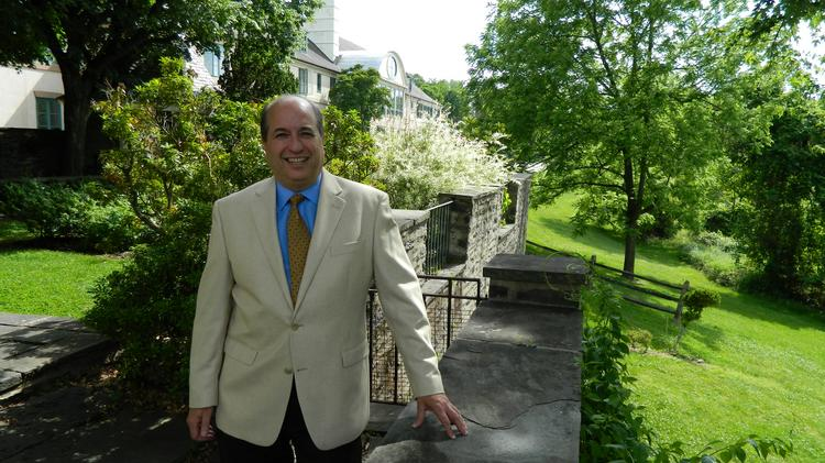 Sam Menaged, the founder and CEO of the Renfrew Centers, at the company's Roxborough residential treatment facility.