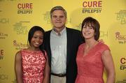 From left, U.S. Olympic gold medalist Gabby Douglas; Steve Case, CEO of Revolution LLC; and his wife, Jean Case.