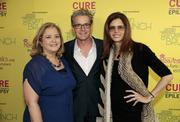 From left, Democratic strategist Hilary Rosen, actor Kyle MacLachlan and his wife, Desiree Gruber.