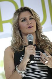 Miss America 2013 Mallory Hagan spoke at the event.