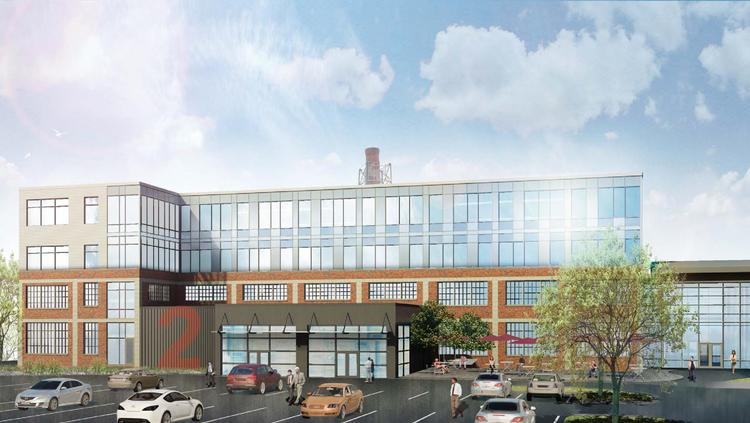 The new MAIF headquarters will be part of an expanded Phillips Foods complex in Locust Point.
