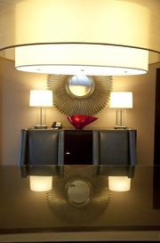 The Presidential Suite at the Louisville Marriott Downtown features several interesting pieces.