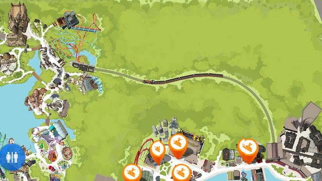 Universal\'s Harry Potter map shows potential for expansion ...