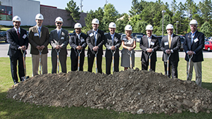 A team of developers broke ground on the construction of a new MedHelp facility on U.S. 280.