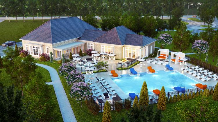 Schottenstein's 196-unit Grand at Polaris in Columbus, Ohio, should be ready in October.