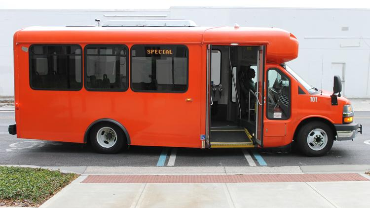 The FlexBus on-demand suburban bus service is slated to begin a yearlong demonstration period later this year, with paid service open to the public as a test to make sure the technology and operations work together.