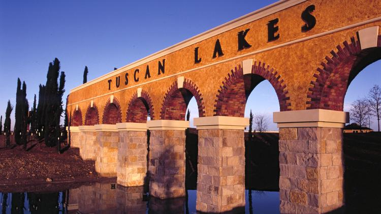 Homes will start around $440,000 for a new section of Tuscan Lakes.