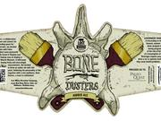 "The logo for Bone Dusters, which bills itself as a ""collaboration between beer and science."""