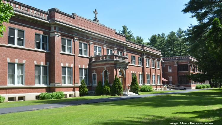 A former retirement home for priests at 233 Lake Ave. in Saratoga Springs could be converted into 85 market-rate apartments for people aged 55 and older under plans being pursued by Bonacio Construction Inc.