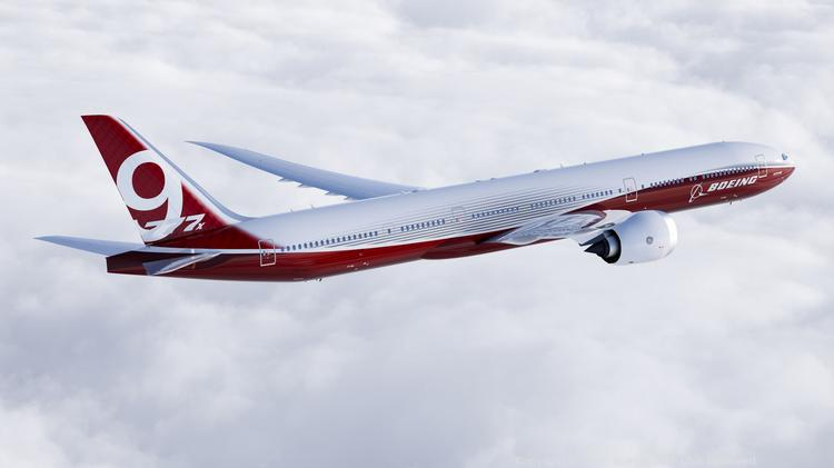 Boeing's 777 is elbowing out cargo-only jets because of its spacious cargo bays.