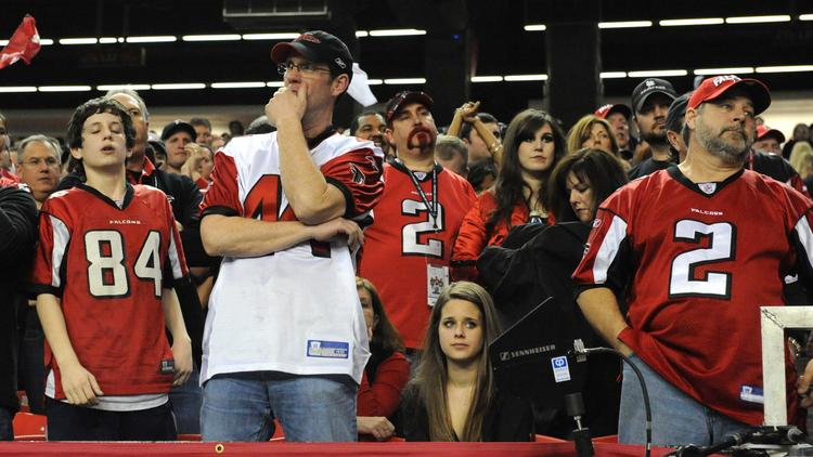 Atlanta Falcons fans are nearly the least supportive and least loyal in the entire NFL.