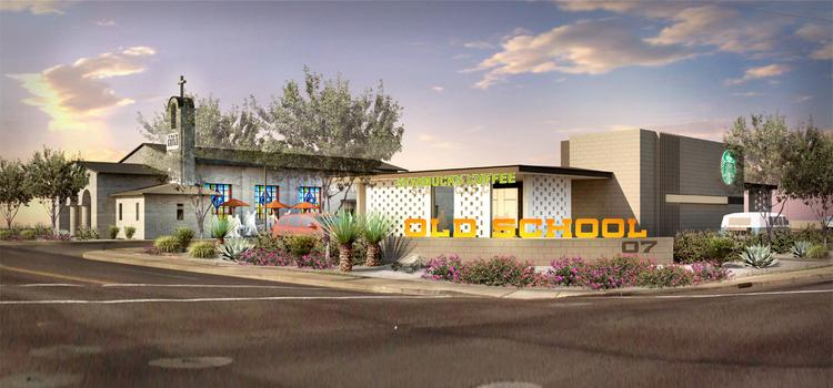 The new Taco Guild restaurant concept will be part of Old School 07, an infill redevelopment project from Cassidy Turley at the corner of 7th Street and Osborn Road in Phoenix.