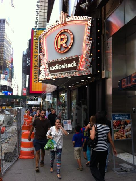 Analysts say the outlook is grim for RadioShack, which has been trading under $1 per share since Friday.