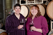 Hip Chicks Do Wine is owned by Laurie Lewis and Renee Neely who founded it in 1999. It's located at 4510 S.E. 23rd Ave.