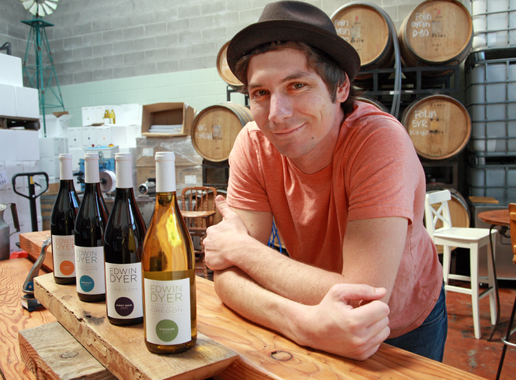 Alchemy Wine Productions is owned by Gracey and Nic Donahue, who founded it in 2010. It's located at 3313 S.E. 19th Ave.
