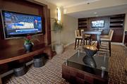 The Concierge Lounge is a place for guests to meet with others or to work on projects.