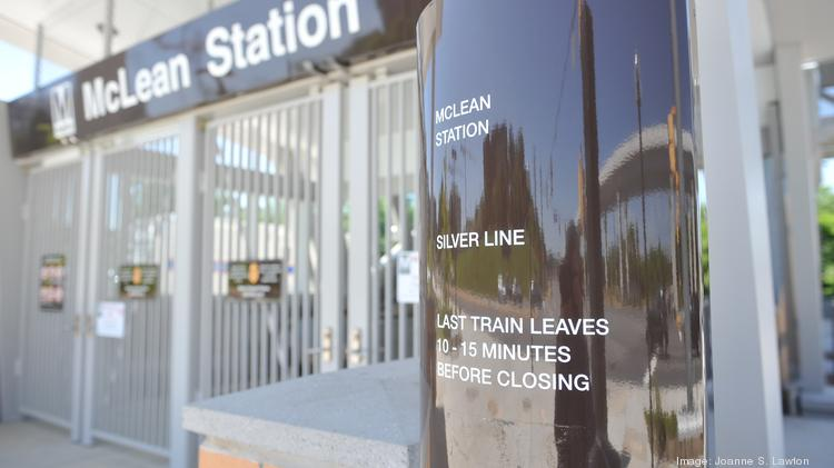 The Silver Line will carry its first passengers on July 26, Metro General Manager Richard Sarles said Monday. Pictured here is the new McLean station. Photo by Joanne S. Lawton