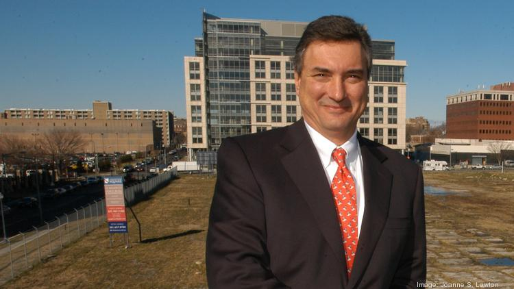 StonebridgeCarras Partner George Carras, seen here at Constitution Square in NoMa, said the firm tapped Andrew Eshelman to oversee acquisitions given his experience as a principal and founder at MGP Real Estate.