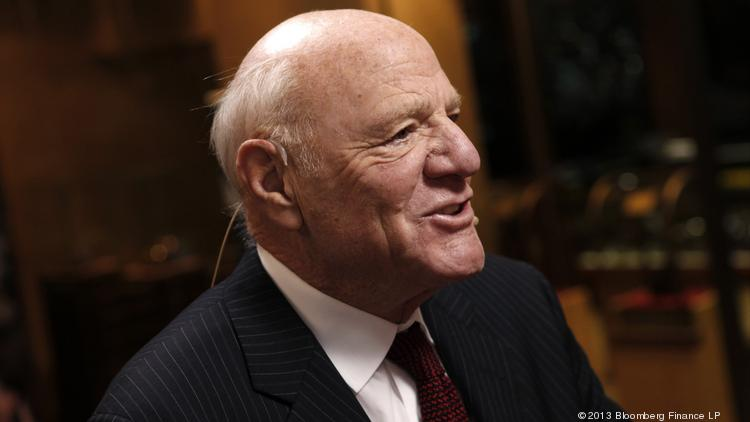 Barry Diller, chairman of IAC/InterActiveCorp., speaks during a Bloomberg Television interview in April 2013.