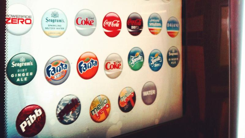 High-tech soda fountain