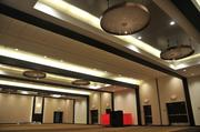 All of the meeting space received new ceilings, lighting, wall vinyl and carpeting.