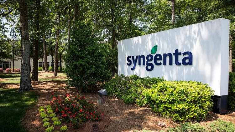 Syngenta's North American headquarters in Greensboro, NC.  The company rejected a takeover bid from Monsanto on Wednesday.  Both companies have research labs in Woodland.