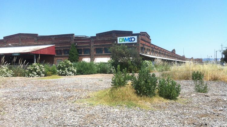 The warehouse was built in 1927. It houses some distribution tenants.
