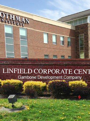 The Linfield Corporate Center was developed by Gambone Development Co.