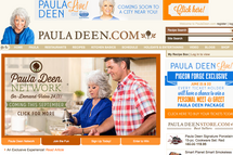 Paula Deen website
