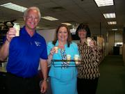 Comprehensive Energy Services' ice cream day at work.