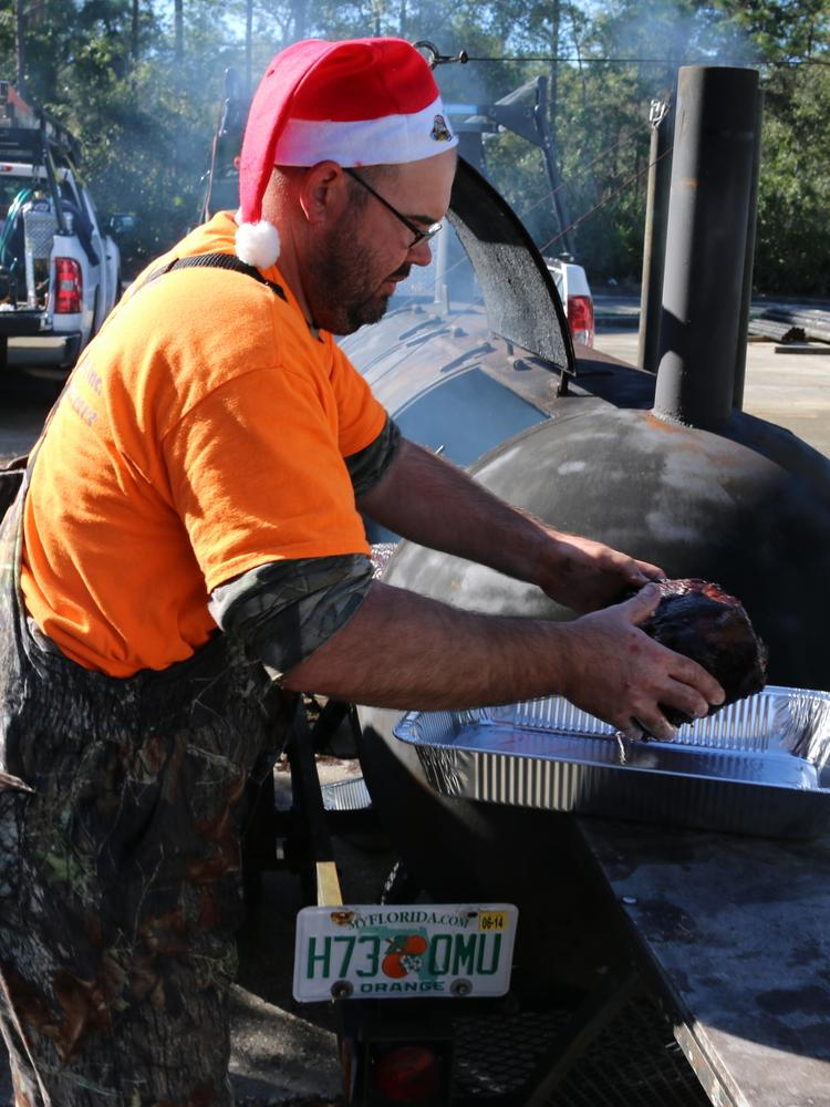 Comprehensive Energy Services' holiday cookout.