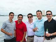 Evershore associates enjoy a private cruise along the Intracoastal Waterway to celebrate Evershore's fifth birthday.