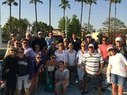 Evershore Associates (some with spouses) enjoy a day at Santa Catlina Island, Calif. in March 2014.