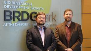 Benson Hill President and CEO Matthew Crisp (left) and Todd Mockler, the company's chief technology officer