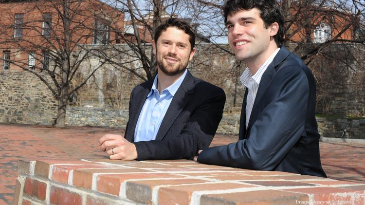 Ben Miller (left) and Daniel Miller, of Rise Development, are one half of the team selected to redevelop the R.L. Christian Library site at 1300 H St. NE. The H Street CDC is partnering on the project.