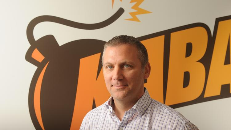Chris Petrovic, the new head of corporate development and licensing at Kabam, the free-to-play gaming juggernaut. The San Francisco-company is having big success with intellectual property from Hollywood, as well as with its own original games and by publishing games developed by others.