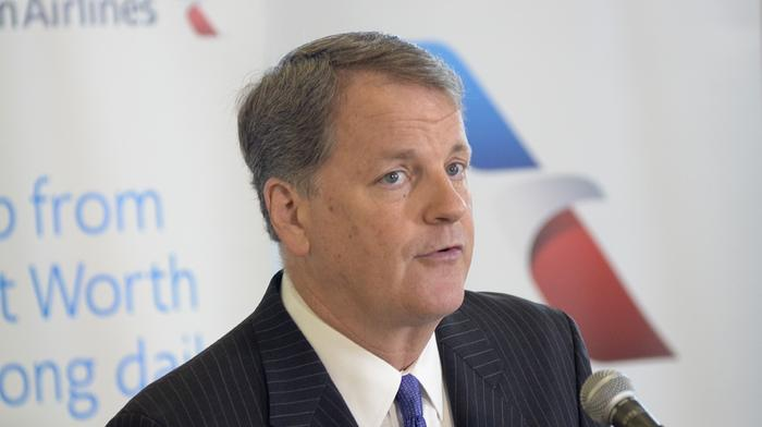 American Airlines CEO terminates his own contract