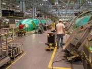 Spirit AeroSystems Inc. has produced more than 5,000 fuselages for Boeing's 737 program.