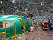Spirit AeroSystems has work on all of the Boeing Co.'s commercial programs, including the 737, shown here.
