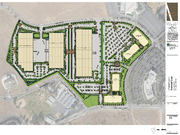 The 34-acre project includes 565,000 square feet of manufacturing space and 450,000 square feet of office space.