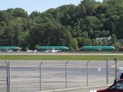 Streams of 737 fuselages are shown arriving at the Boeing Co. from Spirit AeroSystems. A kink in this system arose when a train carrying six fuselages derailed in Montana.