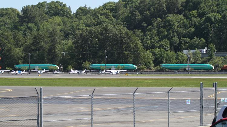 Streams of 737 fuselages will continue to pour through Seattle, as Boeing production in Renton accelerates.