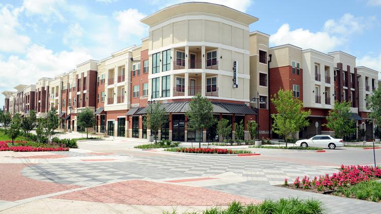 Lancaster Village, the $30 million mixed-use development across from the Veterans Administration Medical Center, is scheduled to open Thursday. The project brings 193 apartments and 14,000 square feet of retail space to that part of South Dallas.