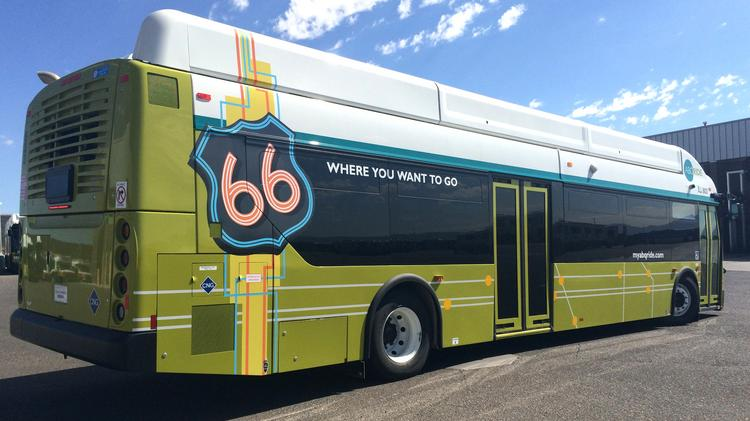 The latest figures show 13,009,047 passengers used ABQ RIDE during Fiscal Year 2014. The previous record was 13,003,221 set in 2012.